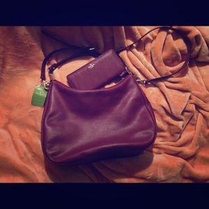 Kate Spade Mulberry Street Vivian bag & wallet